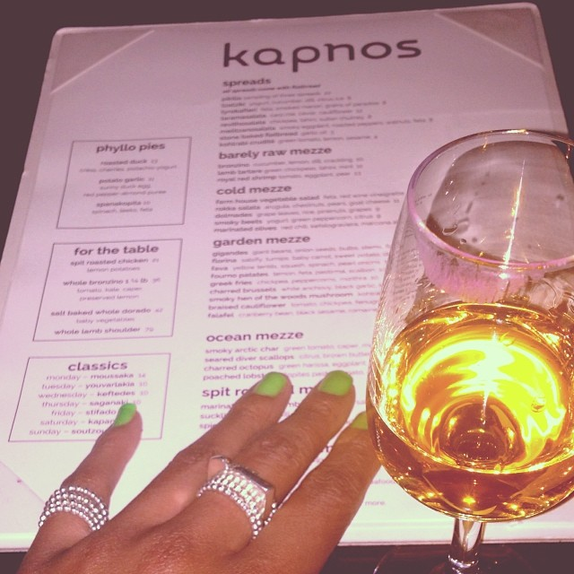 Cadence Archer on Instagram: My @kapnosdc late nite sip of @chairmanreserve #spiced #rum & @cadencearcher #jewelry #handmadeindc @clydedavisjr